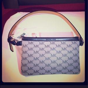 Michael Kors Fanny Pack Belt Bag Gray Black